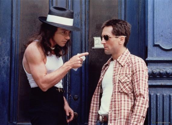 Harvey KEITEL et Robert DE NIRO dans Taxi Driver en 1976