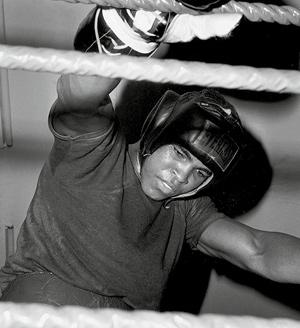Cassius Clay à l'entraînement en RFA, 1966, Collection L'Équipe