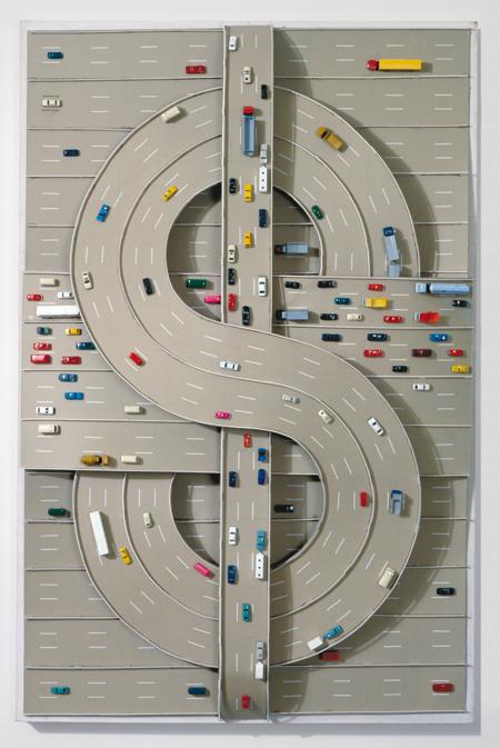 Thomas Bayrle, $ (1980)