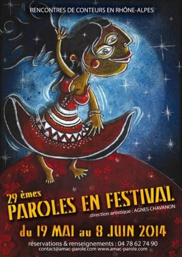 Affiche de la 29ème édition de Parole en Festival - Crédit Éric Fleury