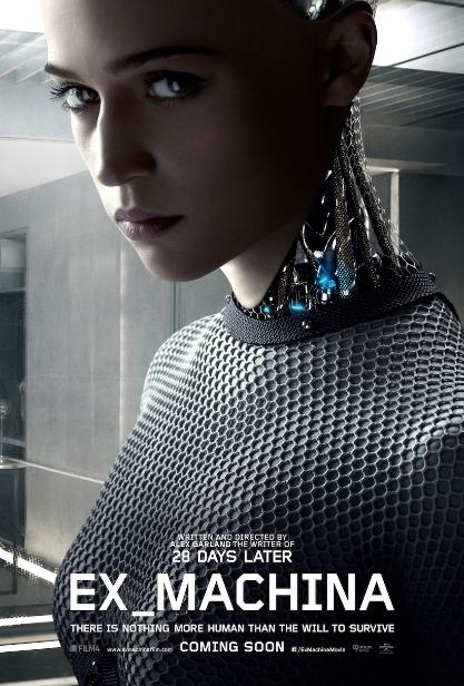 L'affiche du film Ex Machina, d'Alex Garland, en salles depuis le 3 juin