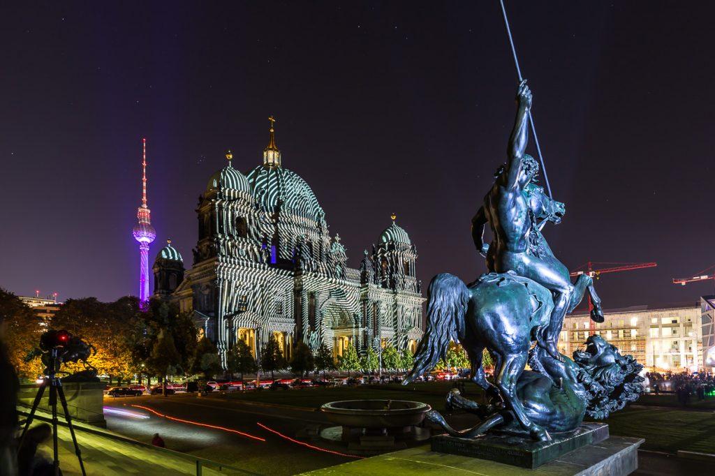 La version berlinoise de la Fête des Lumières, du 9 au 18 octobre dernier