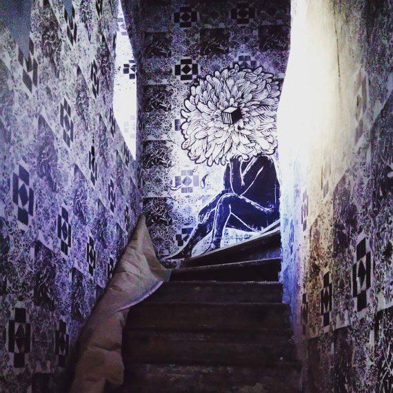 Le street-artiste Agrume