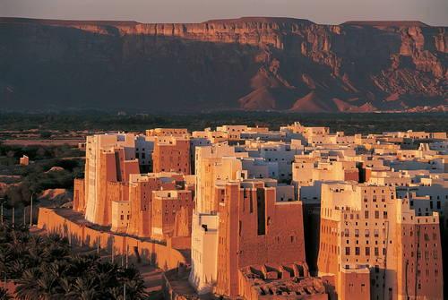 Ville de Shibam, Yémen© Editions Gelbart