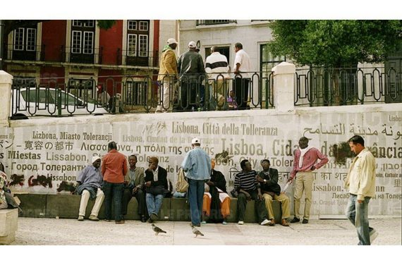 Le voyage de Portugal, Gilles Verneret. Galerie Françoise Besson