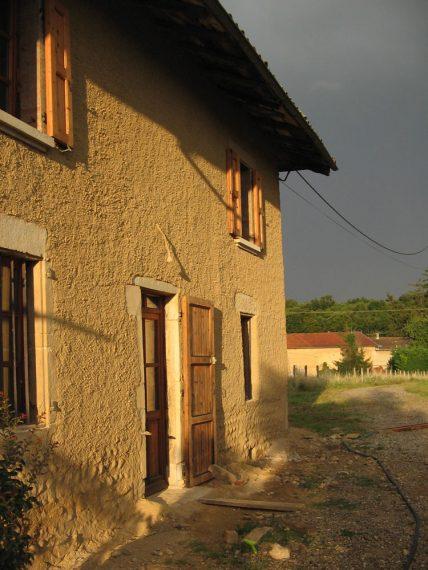 France, maison en Pisé ©Nicolas Meunier.