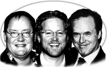 Les trois génies de Pixar volent de leurs propres ailes