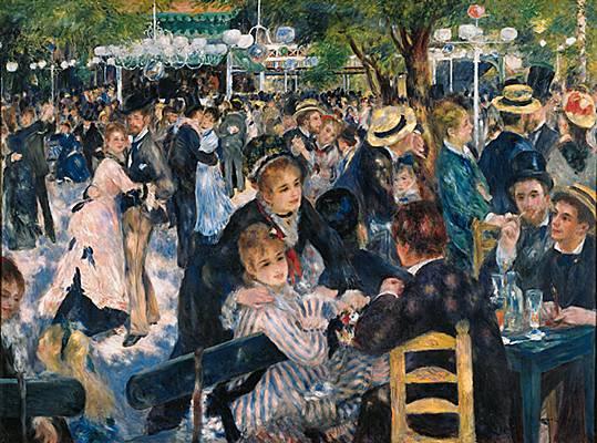 Auguste Renoir, Bal du moulin de la Galette, 1876