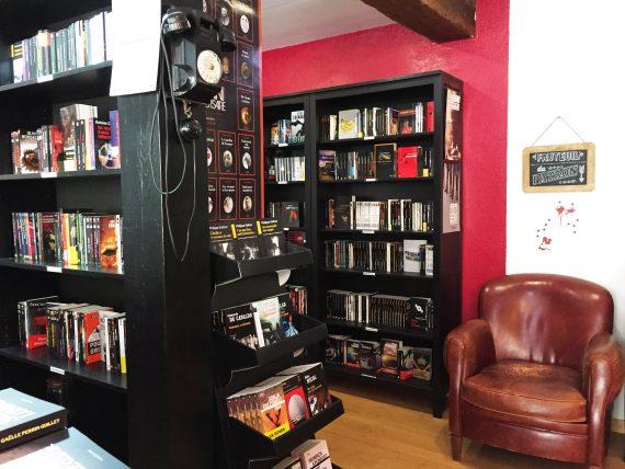 Librairie café polar