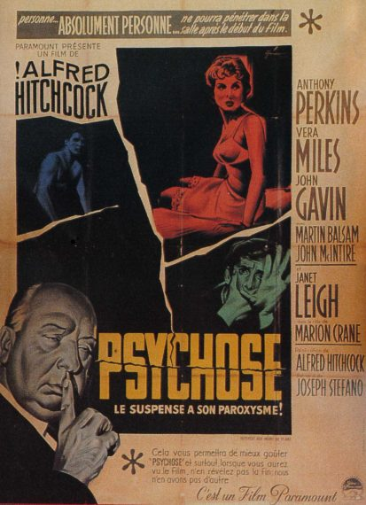 Psychose, d'Alfred Hitchcock