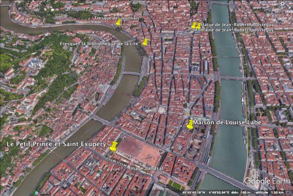 plan google earth (crédit sur la photo)