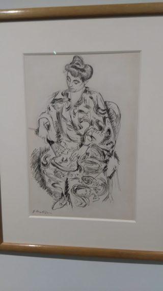 Madame Matisse en Kimono