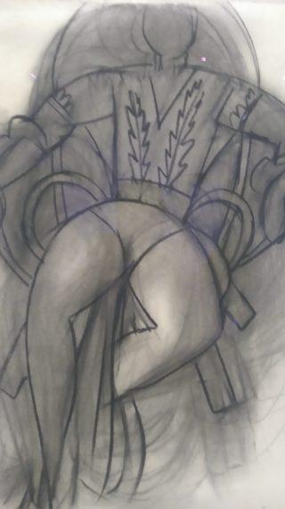 Danseuse Assise, Matisse