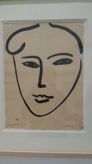 Jacky par Matisse, Encre de Chine