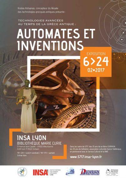 Automates et Inventions dans la Grèce Antique