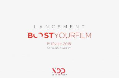 Ce jeudi 1er février se tenait l'inauguration de BoostYourFilm. L'occasion pour cette nouvelle plateforme numérique de cinéma indépendant de présenter son projet et de lancer un concours d'écriture de scénarios.