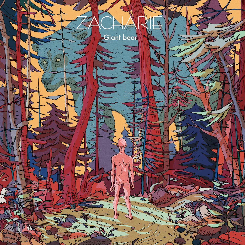 Album Giant Bear de Zacharie